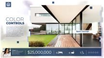 پروژه افترافکت اسلایدشو مشاور املاک Real Estate Listing Slideshow