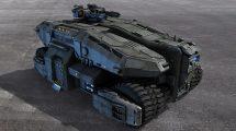 مدل سه بعدی تانک پیشرفته Sci-Fi APC