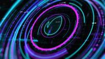 پروژه افترافکت نمایش لوگو اینترو Sci-Fi HUD Intro