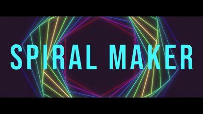 اسکریپت افترافکت Spiral Maker ابزار ساخت الگوهای مارپیچ