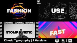 پروژه افترافکت افتتاحیه اینترو فشن Stylish Fashion Intro