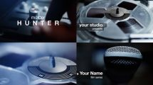پروژه افترافکت افتتاحیه با ضبط صوت Suspenseful Tapes Opener