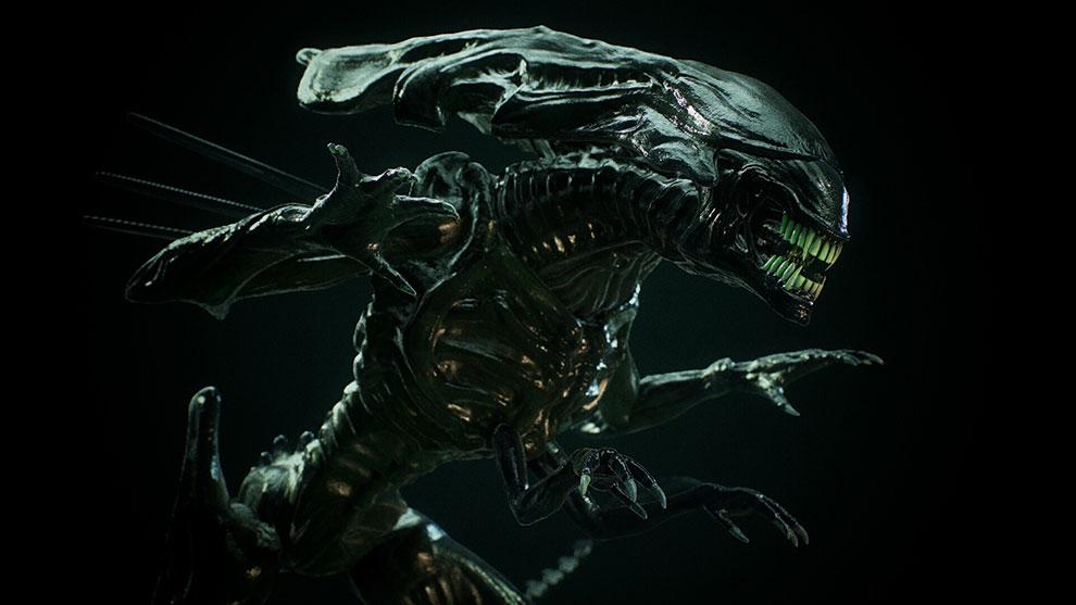 مدل سه بعدی موجود تخیلی فرازمینی The Queen of Aliens