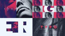 پروژه افترافکت تیزر تبلیغاتی با تایپوگرافی Typo Promo
