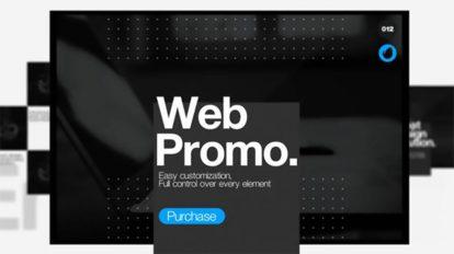 پروژه افترافکت پرزنتیشن وبسایت Web Presentation