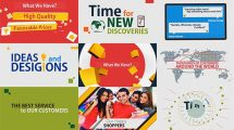 پروژه افترافکت تیزر تبلیغاتی فروشگاه آنلاین Web Store Promo