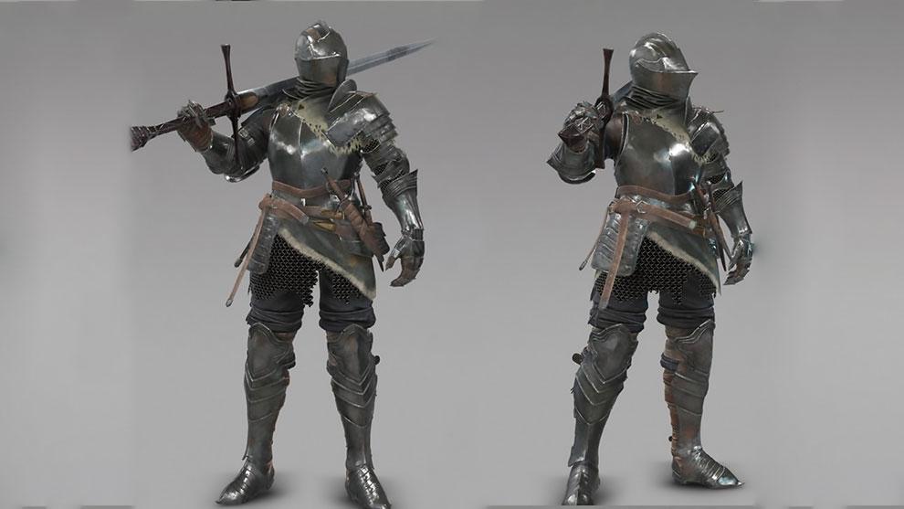 مدل سه بعدی شوالیه با شمشیر Ancient Knight with Sword