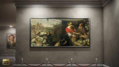 پروژه افترافکت گالری عکس در موزه Art Museum Photo Gallery