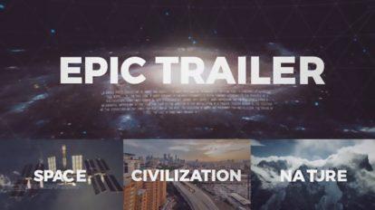 پروژه افترافکت تریلر سینمایی Cinematic Epic Trailer