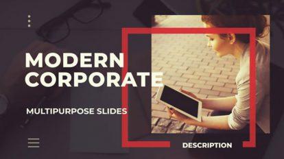 پروژه پریمیر اسلایدشو شرکتی Corporate Slideshow