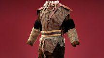 مدل سه بعدی لباس زرهی سرباز قدیمی Costume Chain Mail Soldier