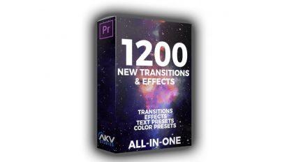 مجموعه پریست پریمیر ترانزیشن AKV Studios Elite Editor Pack