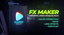 مجموعه فوتیج و پریست ویدیویی FX Maker Video Effects Pack