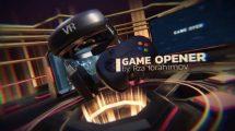 پروژه افترافکت افتتاحیه گیمینگ Game Opener
