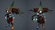 مدل سه بعدی کاراکتر تخیلی Gun Merchant Concept Character