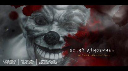 پروژه افترافکت تریلر ترسناک Horror Trailer in Photos