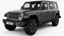 مدل سه بعدی خودرو جیپ Jeep Wrangler Unlimited Sahara