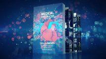 پروژه افترافکت اجزای پرزنتیشن پزشکی Medical Constructor