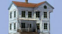 مدل سه بعدی خانه آمریکایی قدیمی Old American House