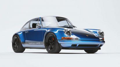 مدل سه بعدی خودرو پورشه کلاسیک Porsche 911 Classic