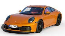 مدل سه بعدی خودرو پورشه Porsche 911 Carrera S 2019