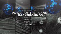 مجموعه فوتیج زمینه متحرک انتزاعی Power of the Planet Backgrounds