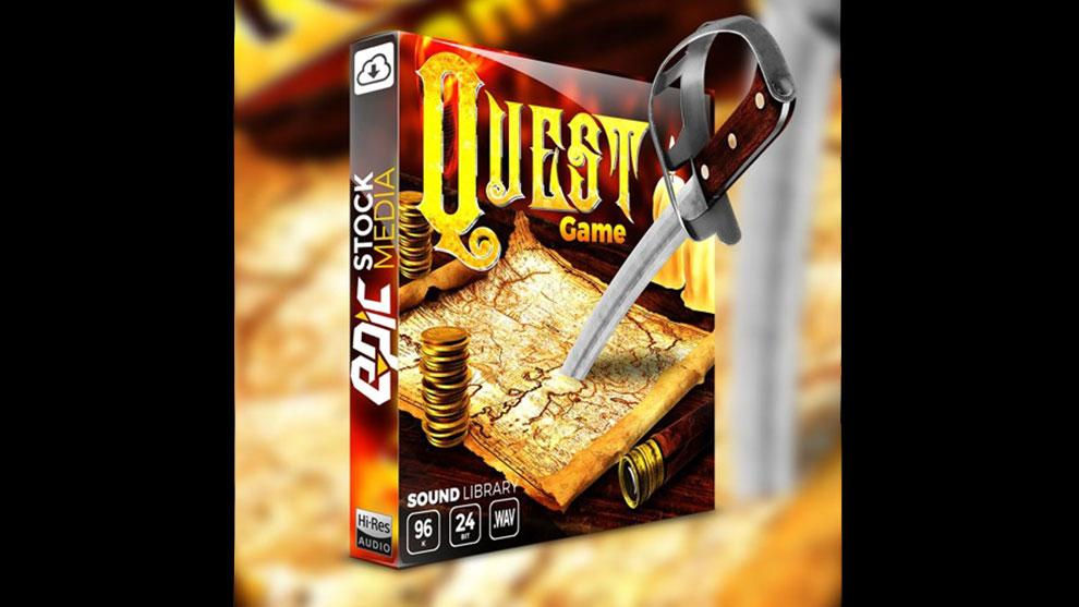 مجموعه افکت صوتی بازی Quest Game
