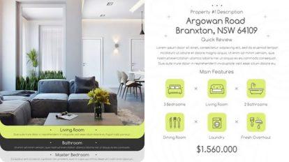 پروژه افترافکت تیزر تبلیغاتی مشاور املاک Real Estate Property Promo