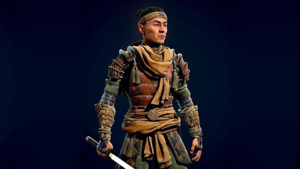 مدل سه بعدی جنگنده سامورایی ژاپنی Japan Samurai Warrior