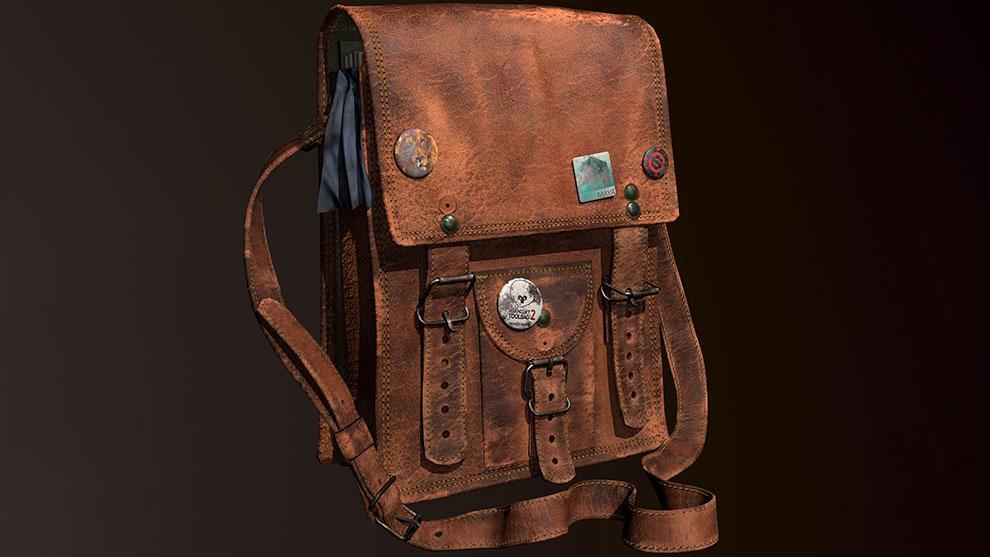 مدل سه بعدی کیف مدرسه School Bag