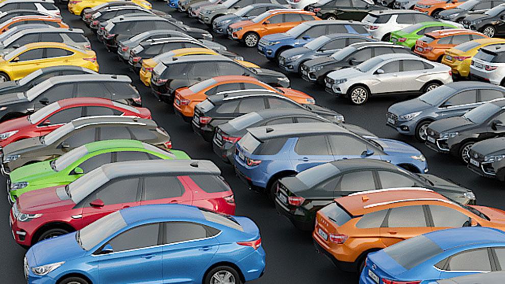 مجموعه مدل سه بعدی خودرو Set of Low Poly Cars