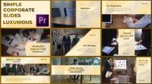 پروژه پریمیر اسلایدشو شرکتی Simple Corporate Slides Luxurious