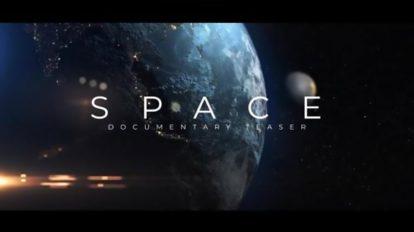 پروژه افترافکت تریلر مستند فضایی Space Documentary