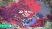 پروژه افترافکت افتتاحیه توقف جنگ Stop The Wars