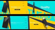 پروژه افترافکت تیزر تبلیغاتی با موضوع تکنولوژی Technologic Product Promo