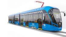 مدل سه بعدی قطار Tram Vityaz-M