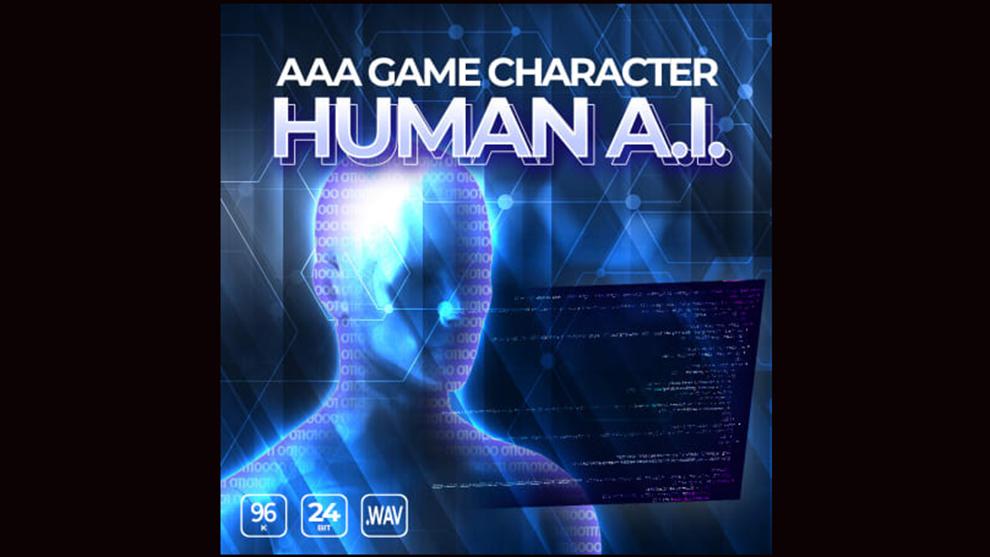 مجموعه افکت صوتی کاراکتر هوش مصنوعی Game Character Human AI