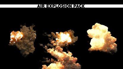 مجموعه فوتیج انفجار در هوا Air Explosion Pack