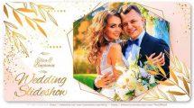 پروژه افترافکت اسلایدشو عروسی Brilliant Wedding Romantic Slides