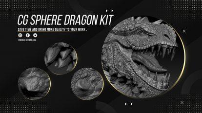 مجموعه براش زیبراش برای اژدها Dragon Kit Alphas