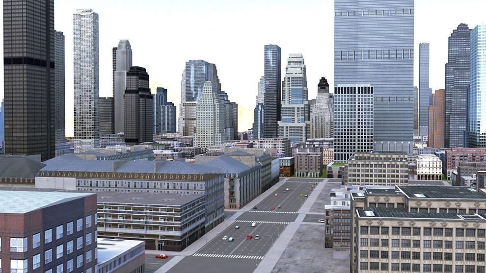 مدل سه بعدی بلوک شهری City Block