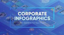 پروژه افترافکت اینفوگرافیک شرکتی Corporate Infographics