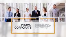 پروژه افترافکت پرزنتیشن شرکتی Corporate Lines Business Presentation