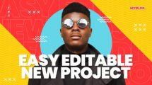 پروژه افترافکت افتتاحیه یوتیوب Creative Youtube Opener