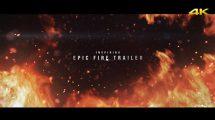 پروژه افترافکت تریلر حماسی Epic Fire Trailer