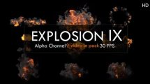 مجموعه فوتیج انفجار Explosion Pack