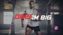 پروژه افترافکت تیزر تبلیغاتی ورزشی Sport Promo