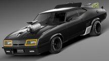مدل سه بعدی خودرو فورد Mad Max Interceptor 1973