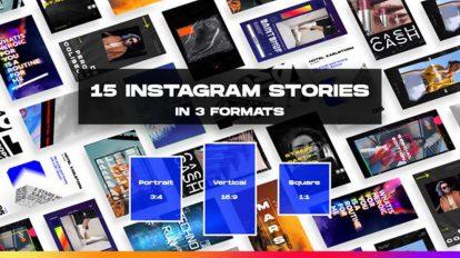 پروژه افترافکت پست و استوری اینستاگرام Instagram Stories and Posts 2