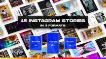 پروژه افترافکت پست و استوری اینستاگرام Instagram Stories and Posts 1